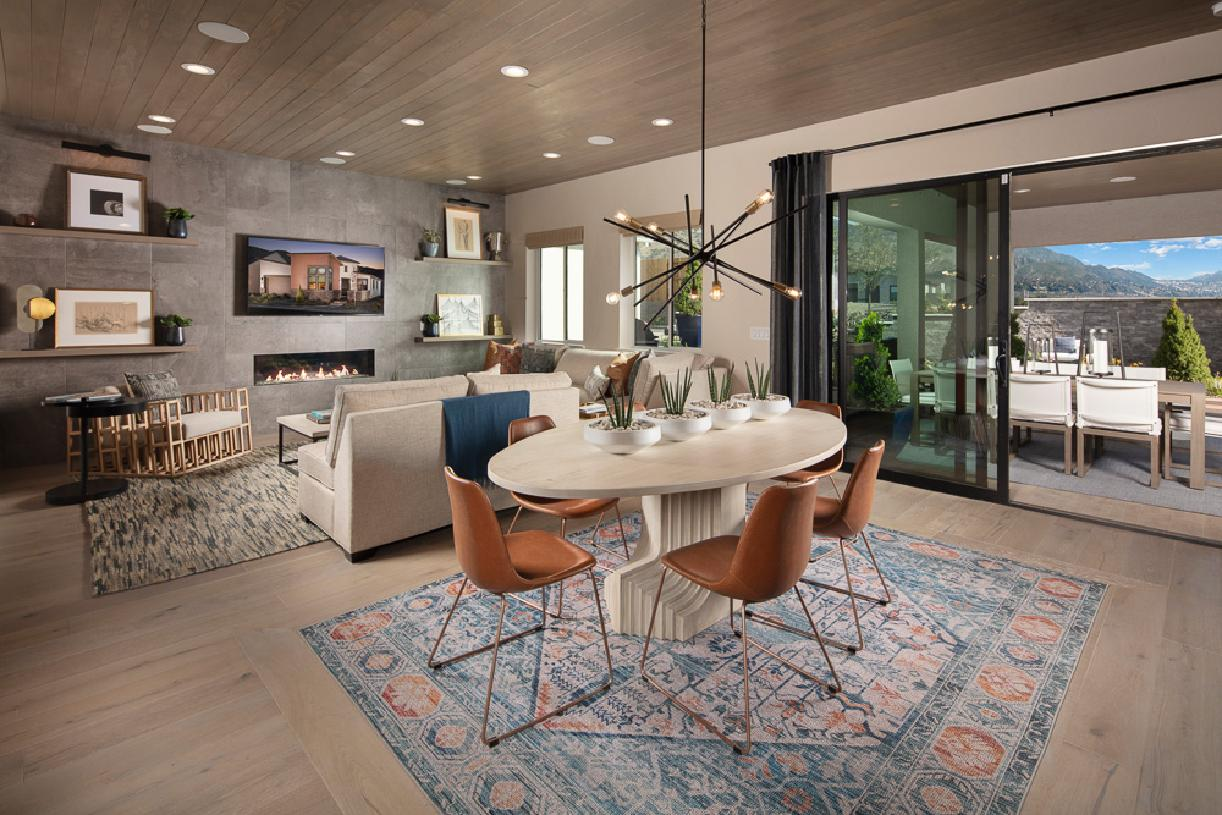 Cambria Elite dining room and great room