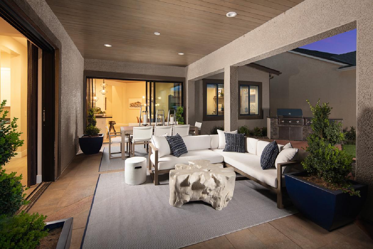 Cambria Elite patio