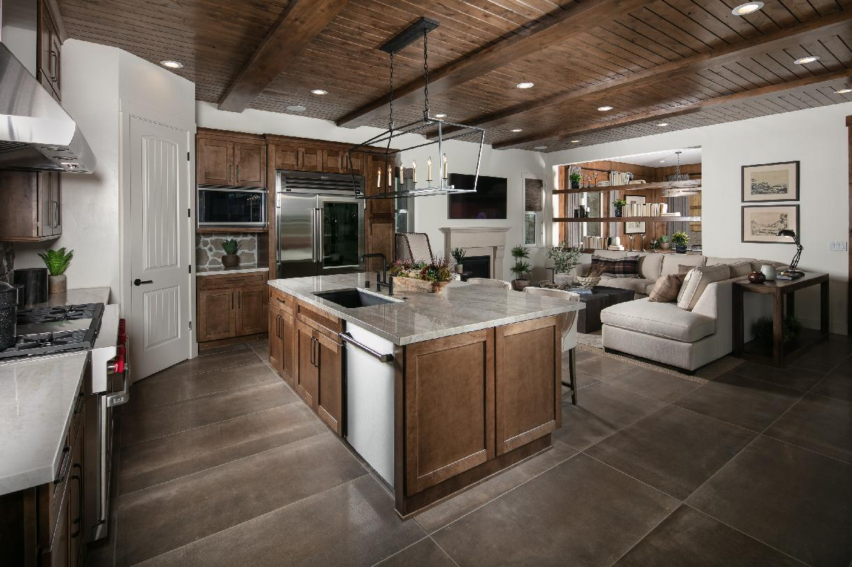 Quincy Elite kitchen and great room