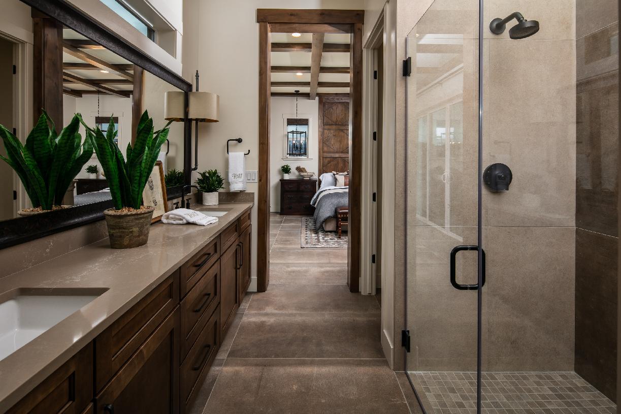 Quincy Elite sumptuous primary bathroom