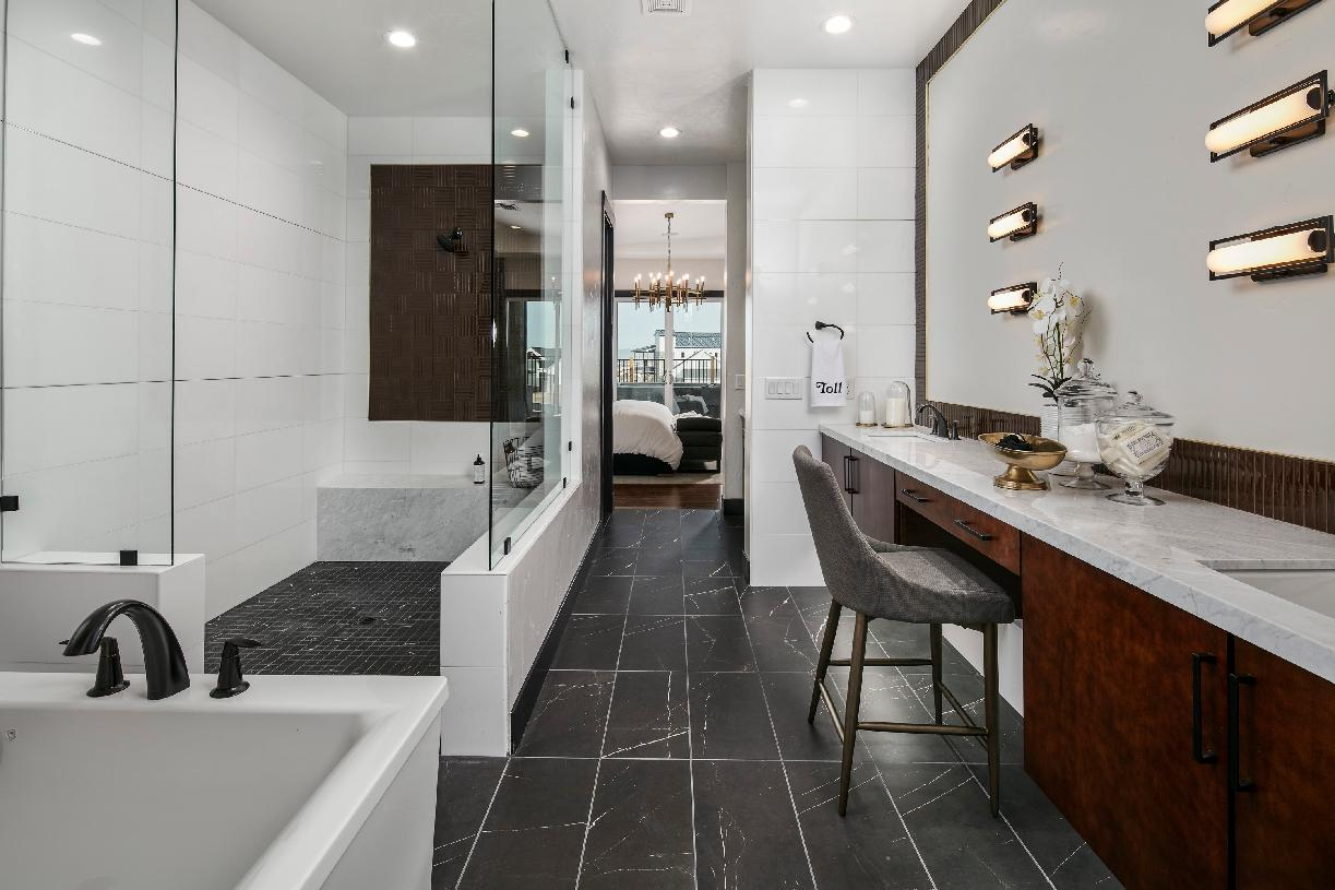 Windsong sumptuous primary bathroom