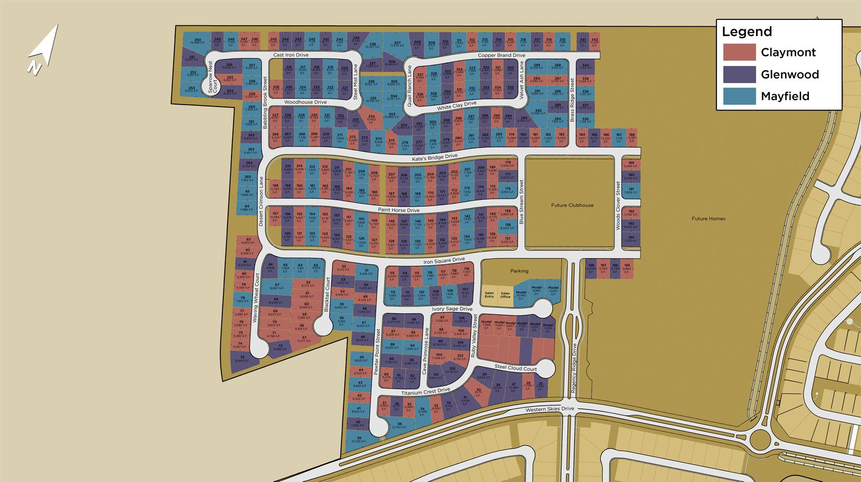 Regency Overall Site Plan I