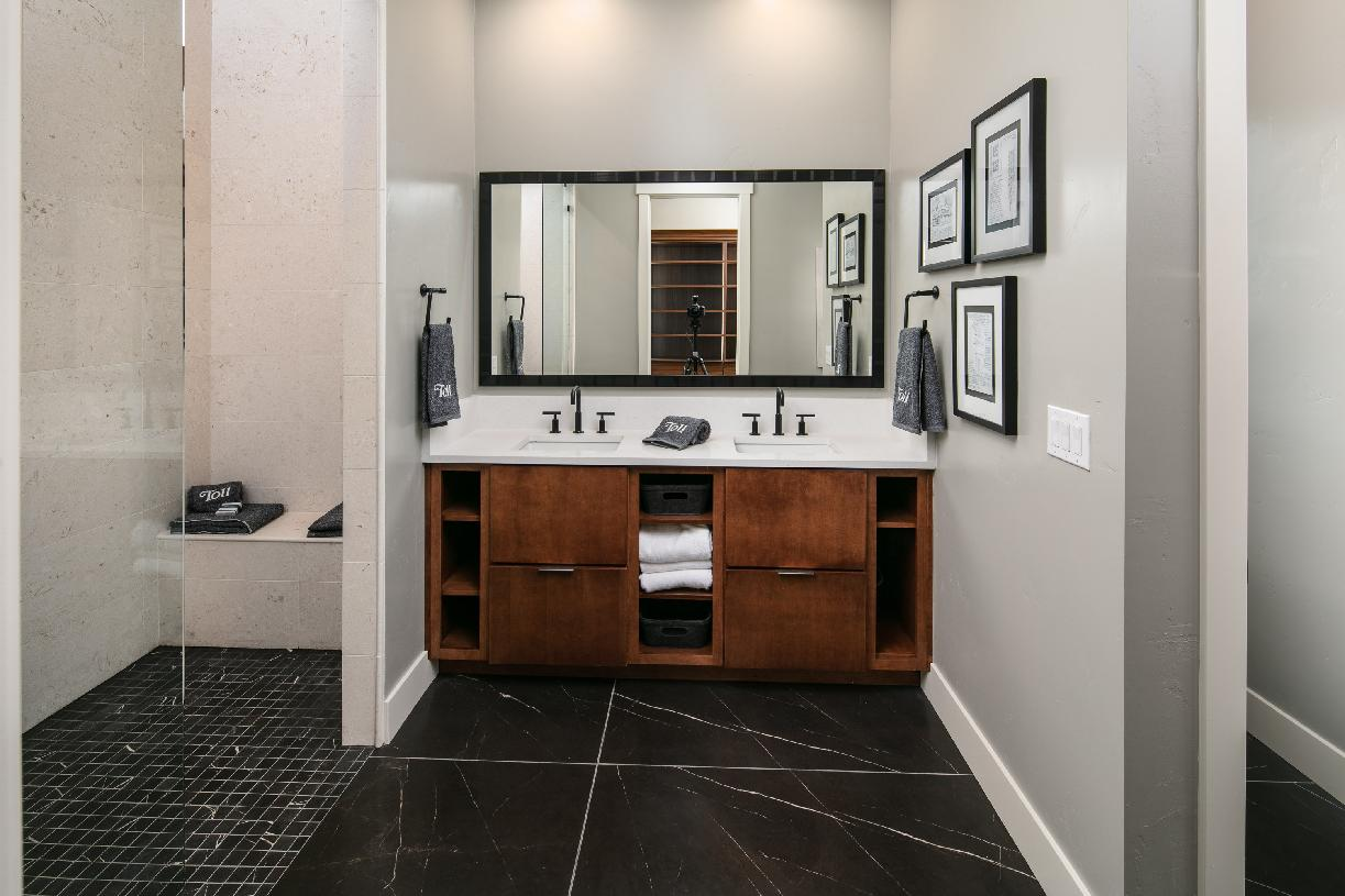 Ascott Elite sumptuous primary bathroom