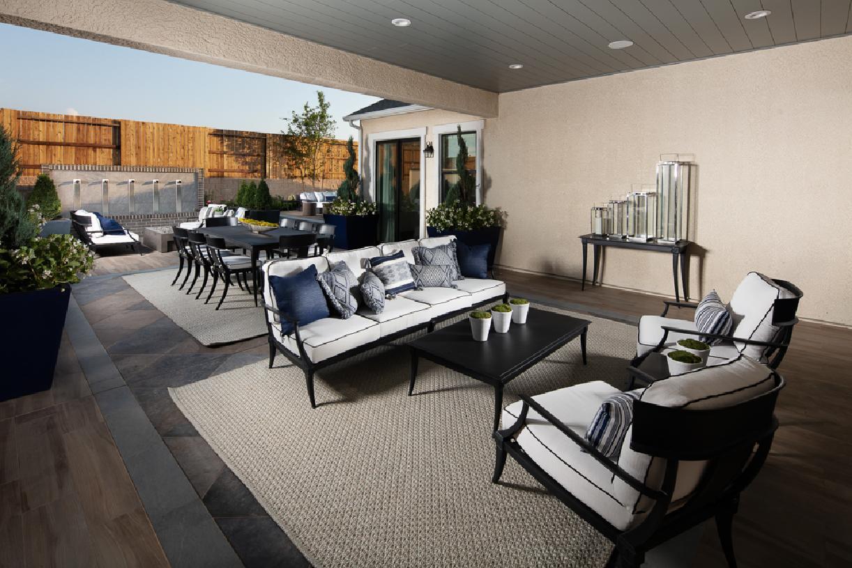 Gramercy patio