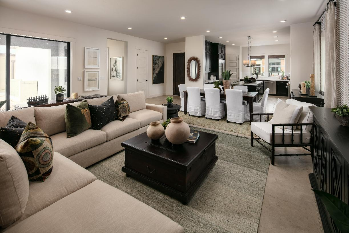 Yardley Elite great room and kitchen