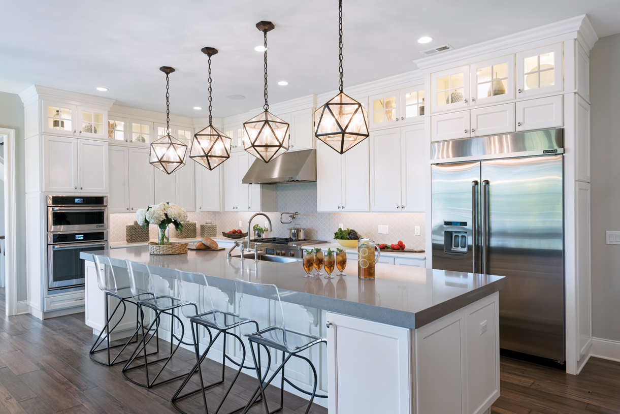 The Weatherstone kitchen serves as the heart of the home with plenty of room for entertaining