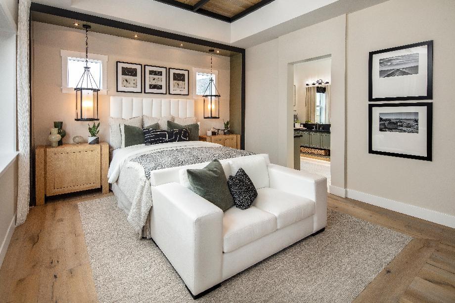 Sarona primary bedroom suite