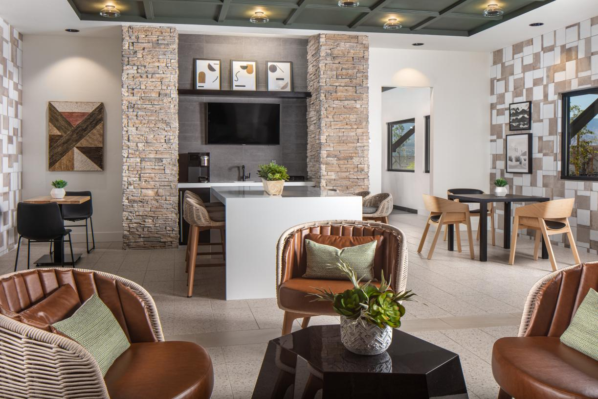 Kitchenette with coffee bar