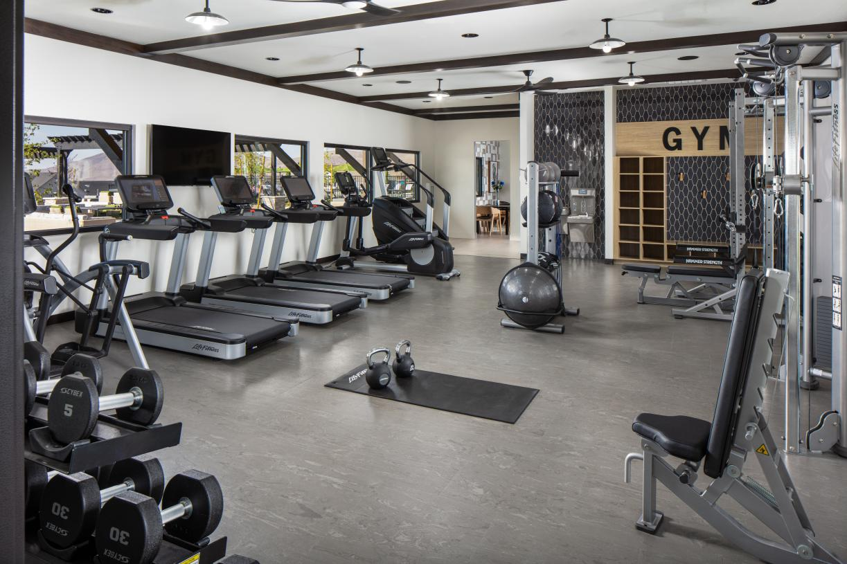Stay fit with access to the latest equipment