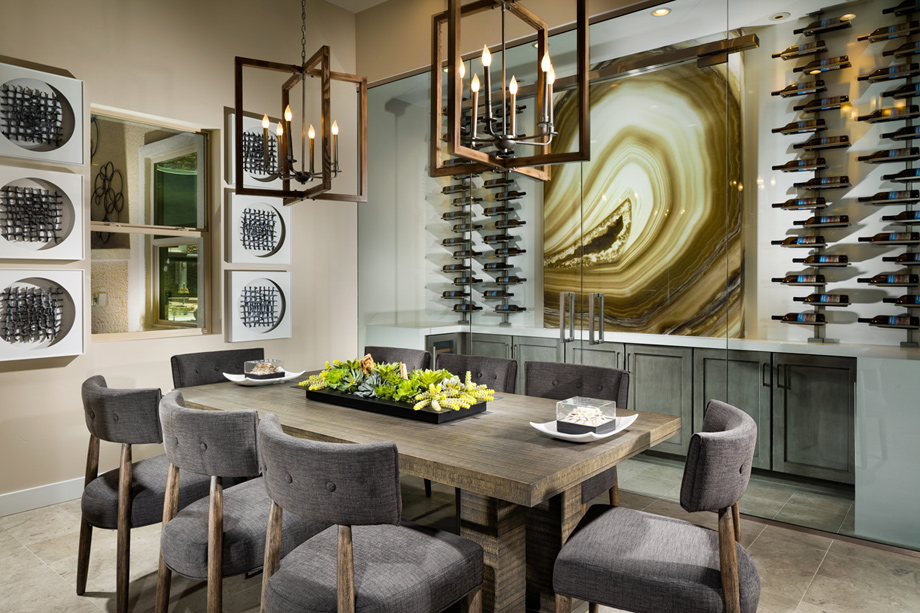 Entertain and dine with family in the dining room