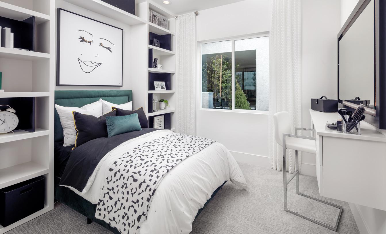 Halsey secondary bedroom