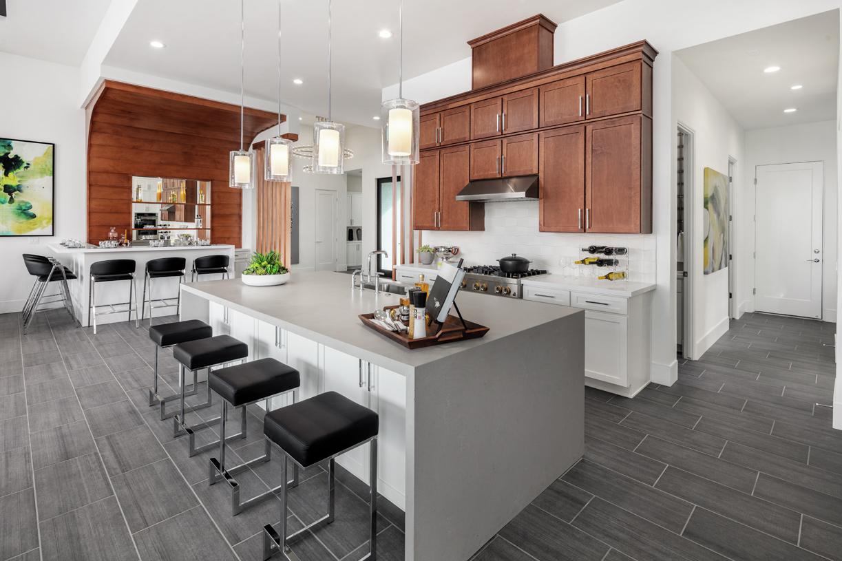Halsey chef's kitchen