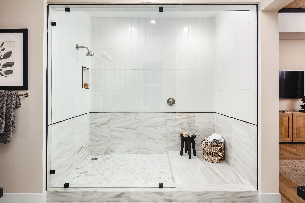 Sarona primary bathroom