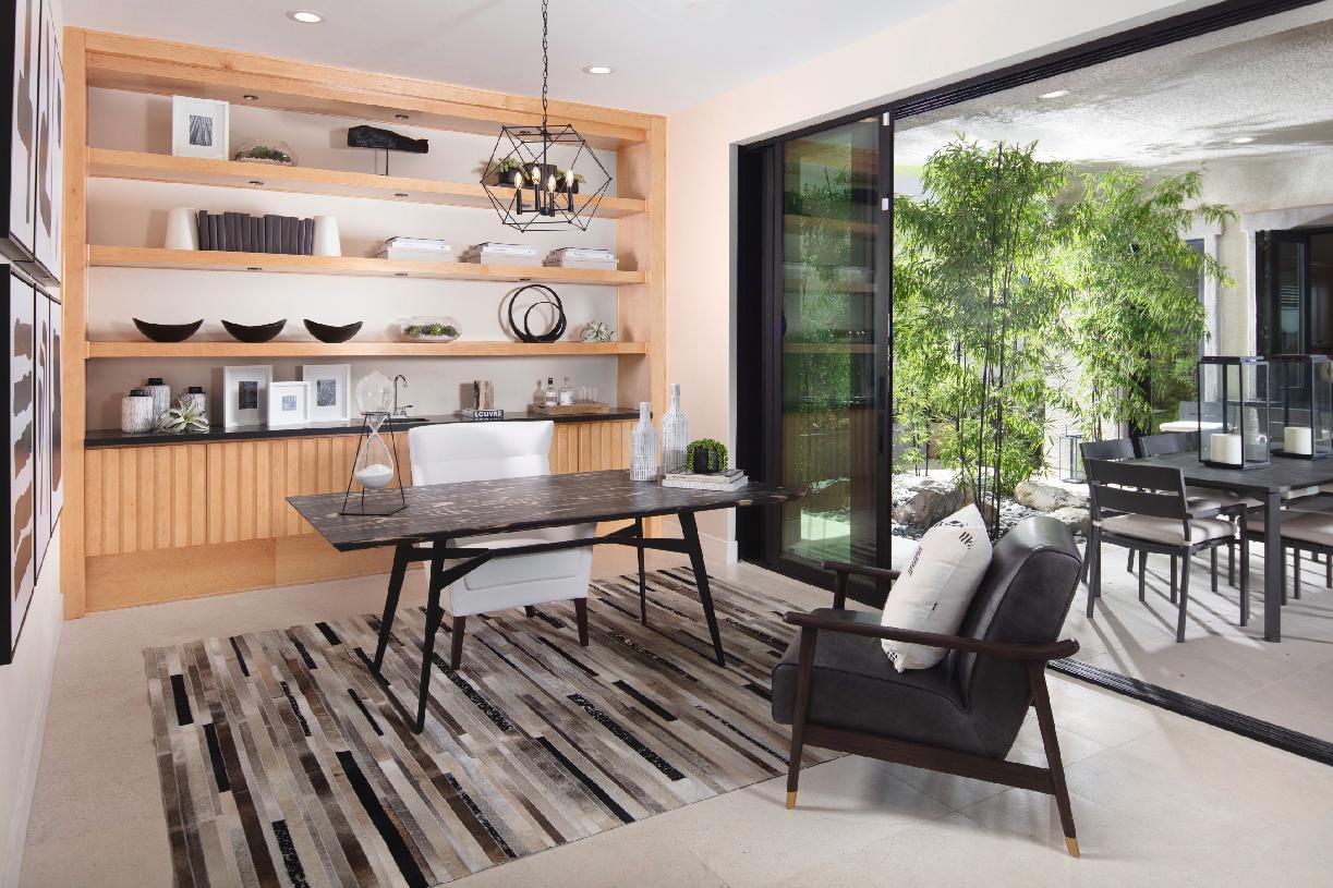 Sarona office and patio