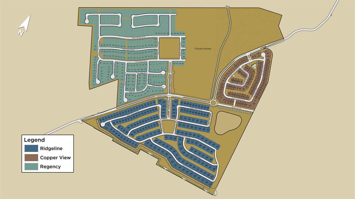 Sky Meadow at Caramella Ranch Overall Site Plan