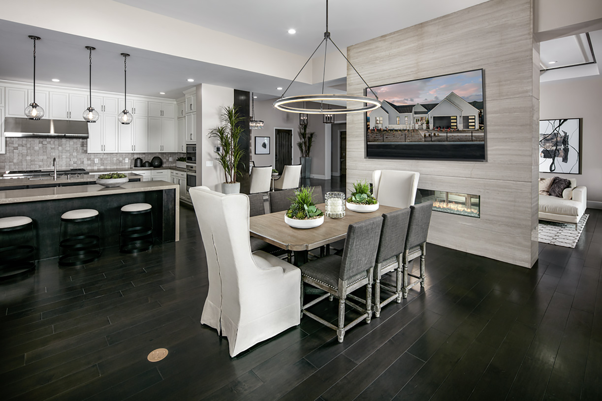 Stratford dining and gourmet kitchen