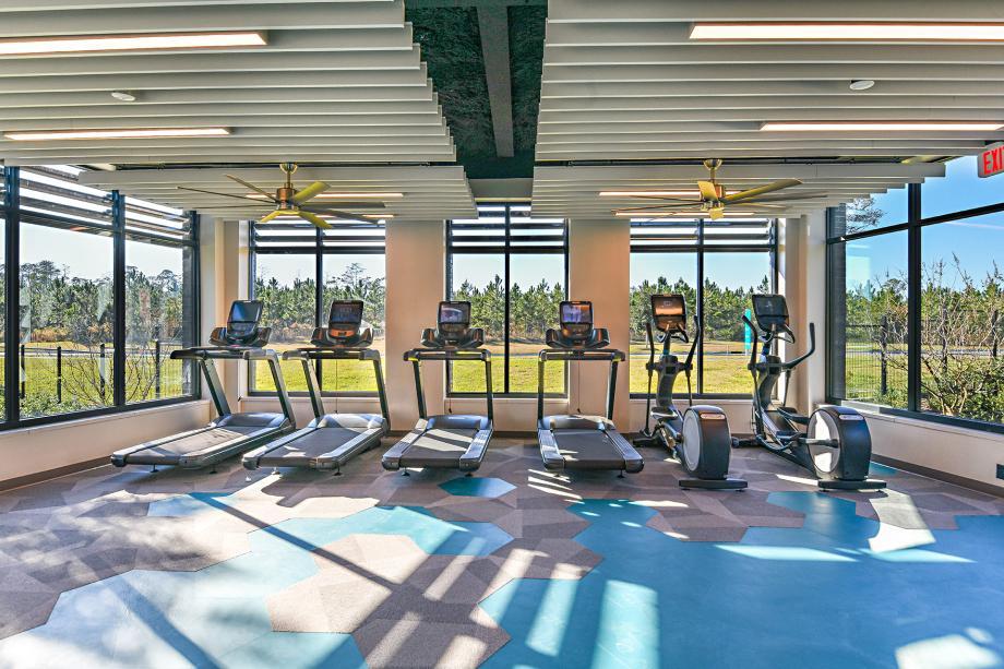 eTown Recharge fitness center