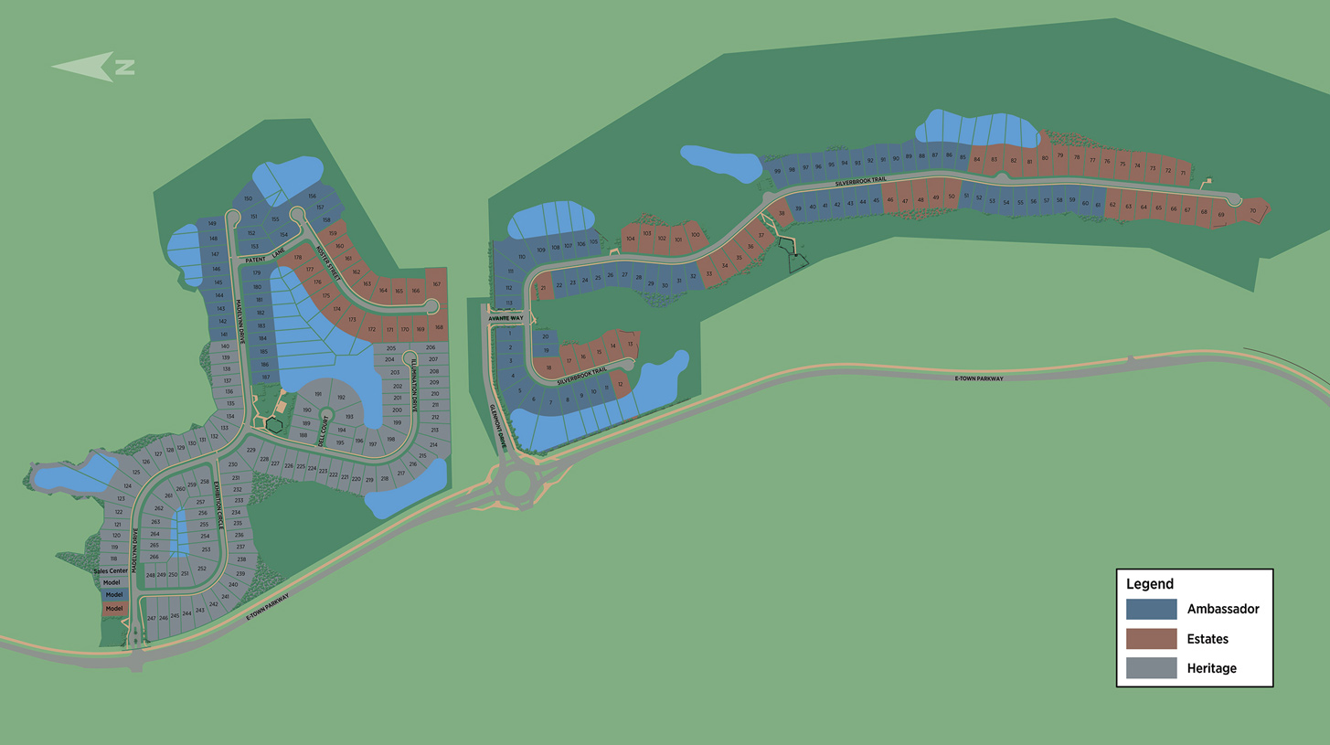 Edison Overall Site Plan
