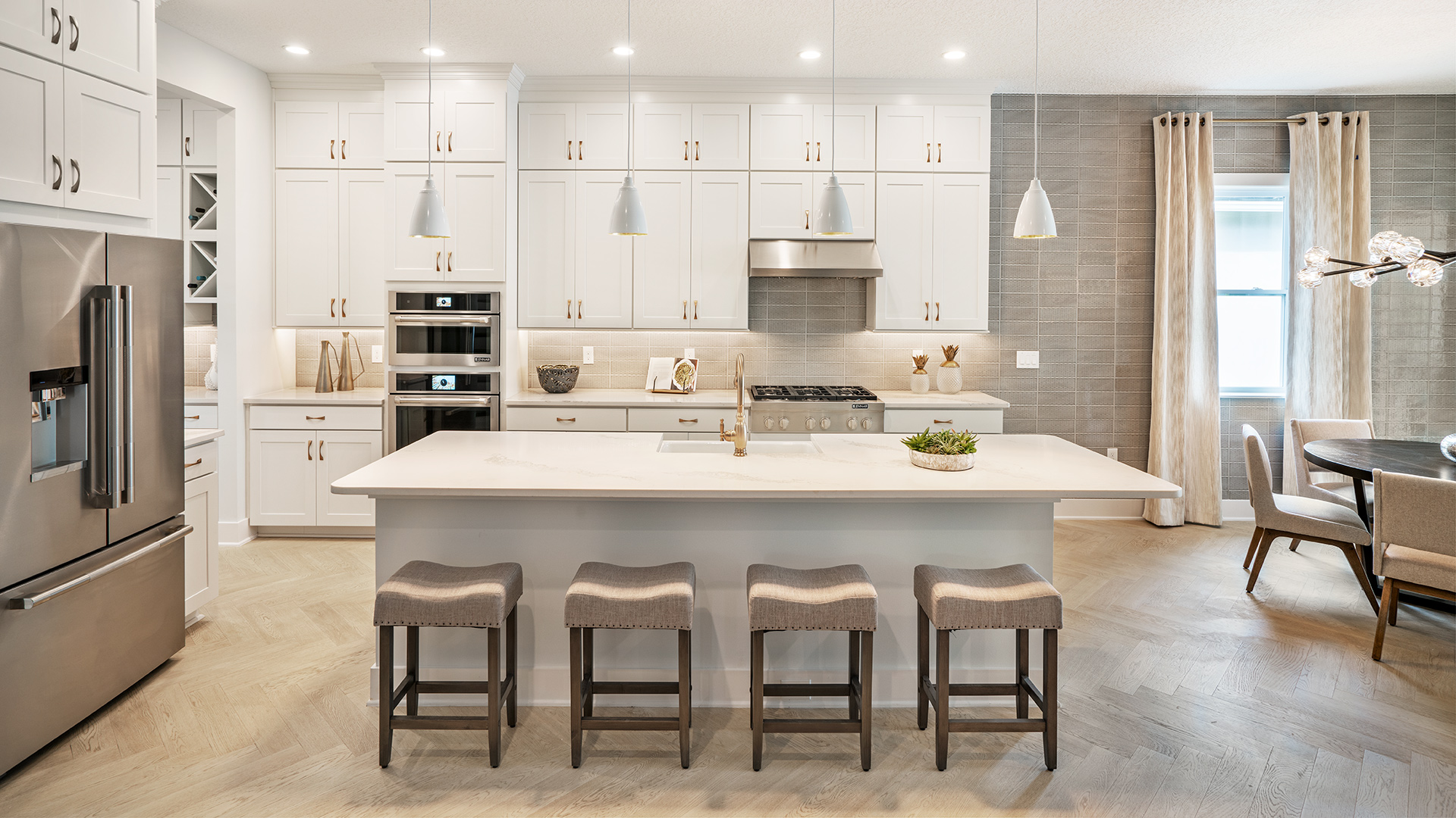 Well-designed kitchens