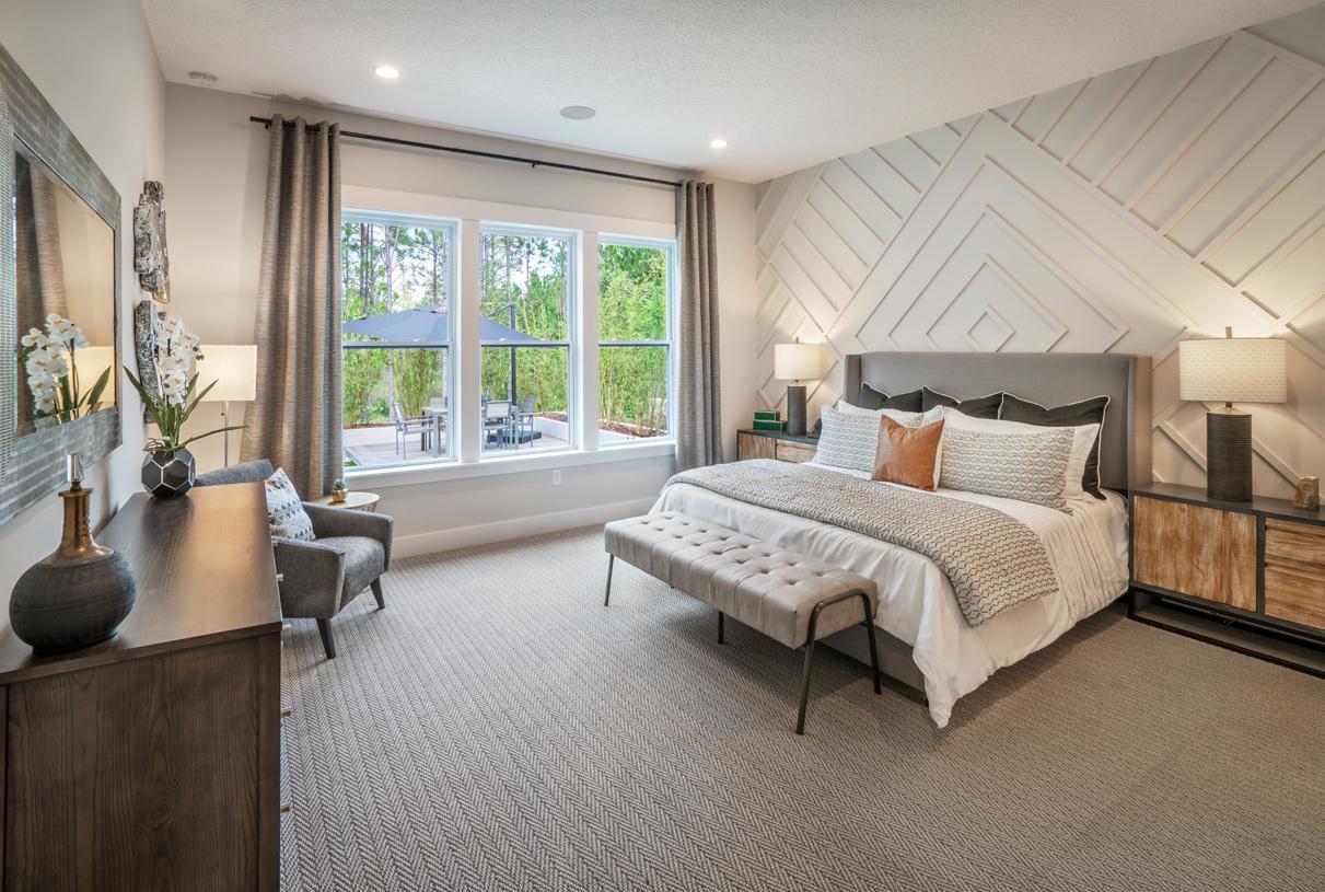 Primary bedroom suites