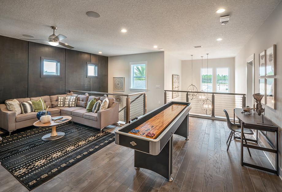 Lofts with abundant natural light