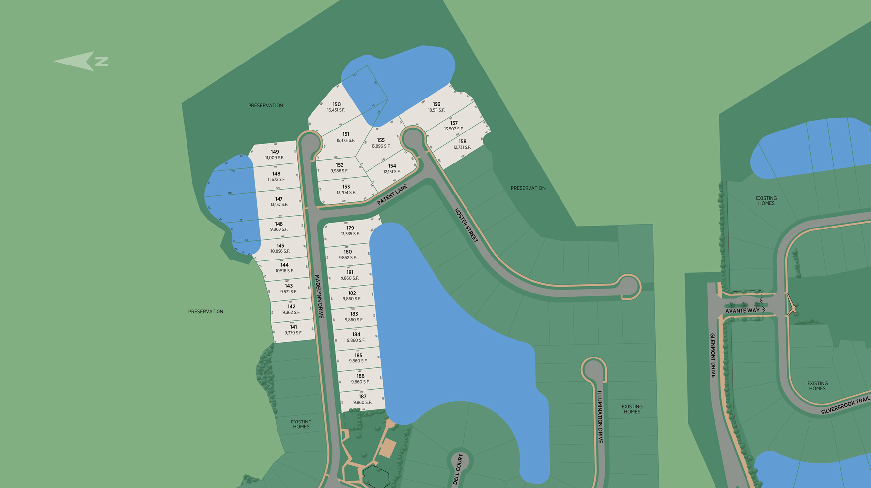 Edison - Ambassador Collection Site Plan III
