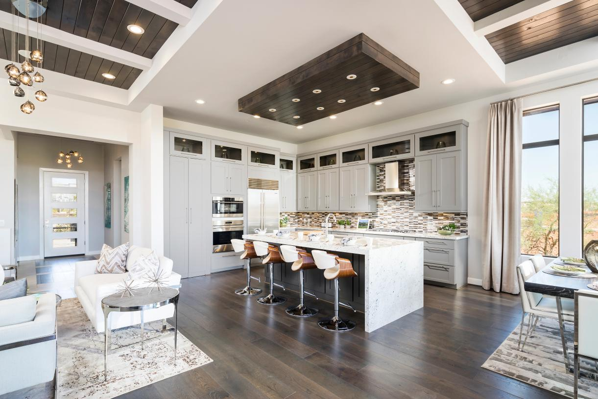 Low-maintenance home designs with luxurious included features