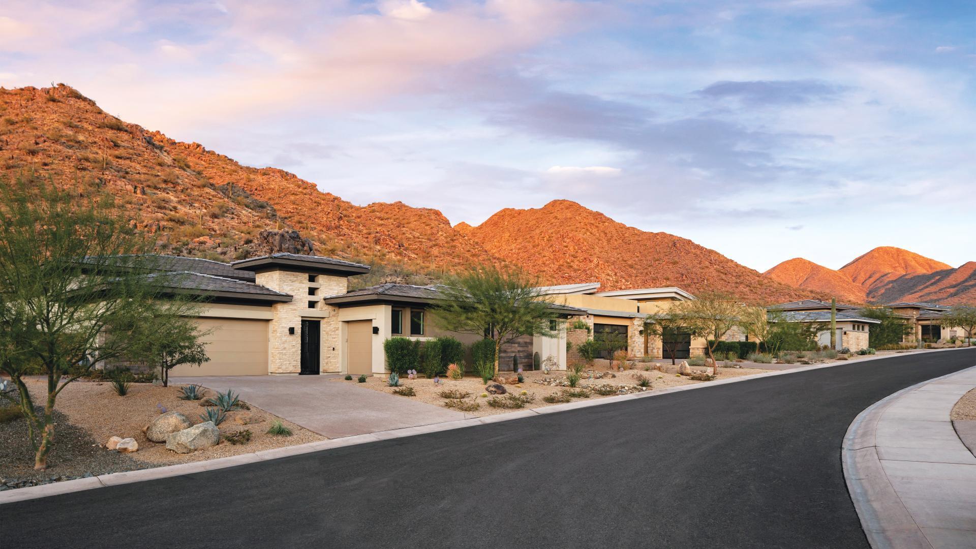 Award-winning private community with beautiful canyon views