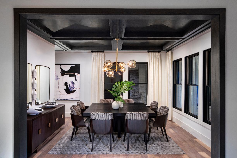 Warhol formal dining room