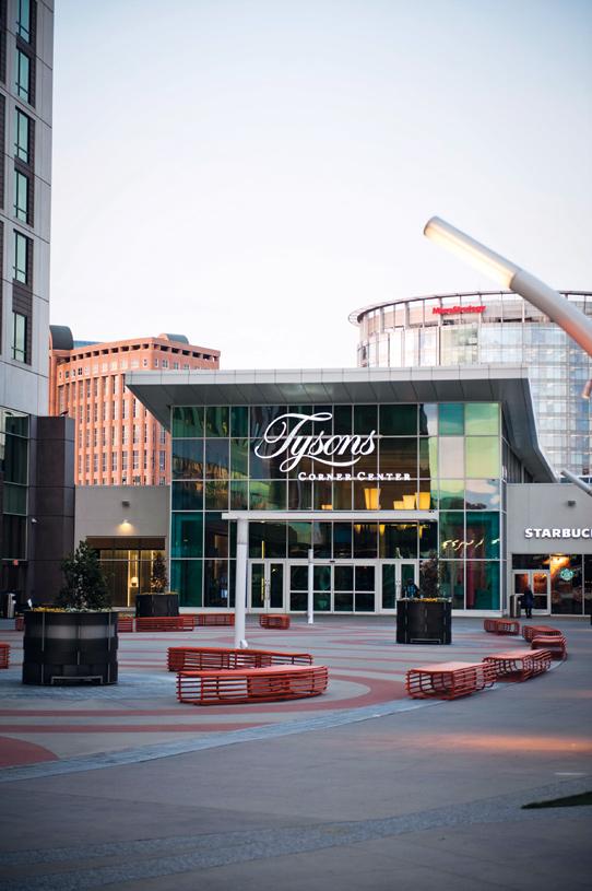 Tysons corner shopping center