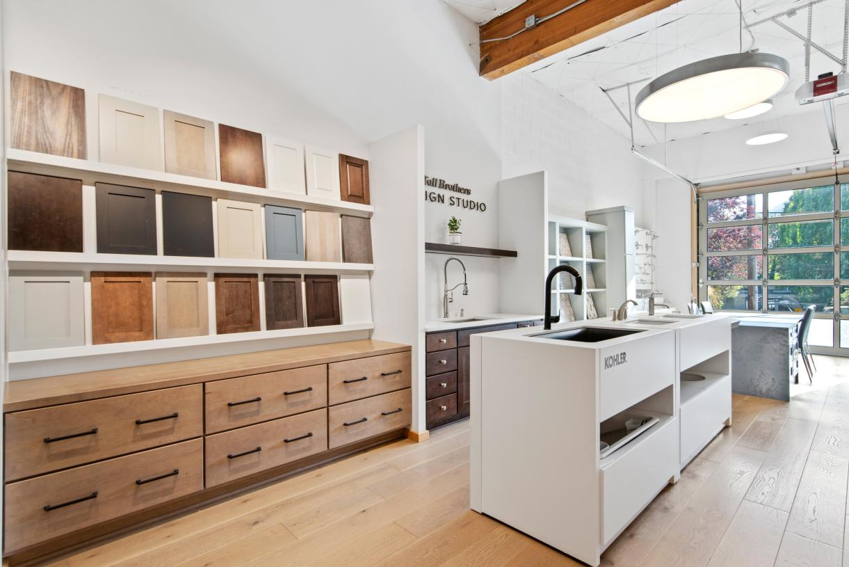 Make selections to create your dream home at the Portland Design Studio