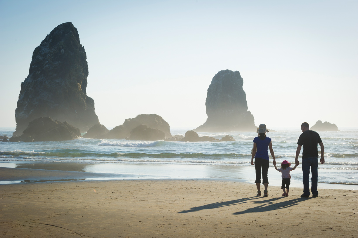 The Oregon Coast is an easy day trip from your Thompson Woods home