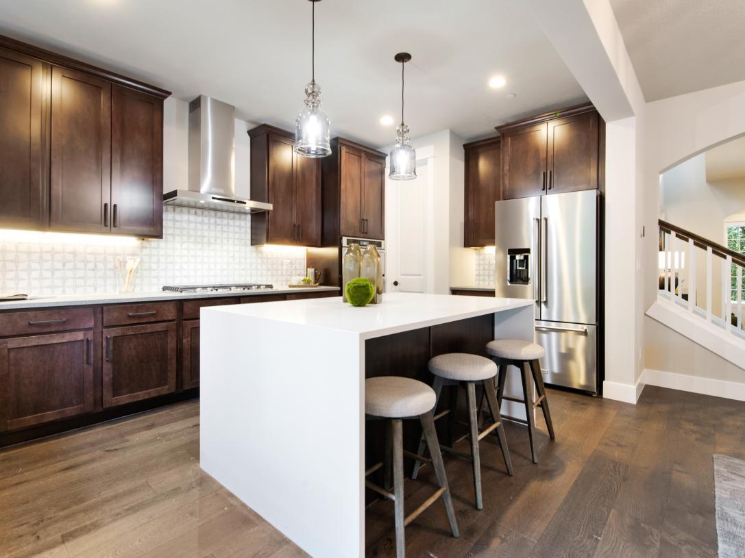 Well-designed kitchen offers plenty of storage space