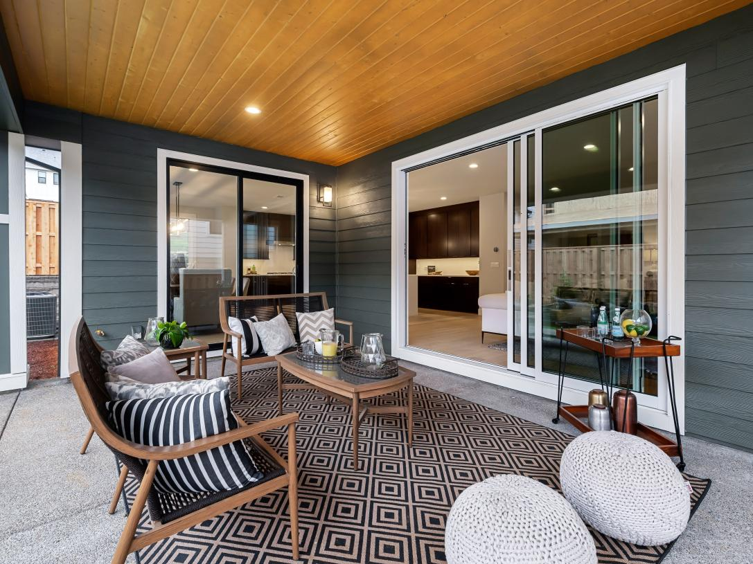 Entertain family and friends in this outdoor living space just off the great room and dining room