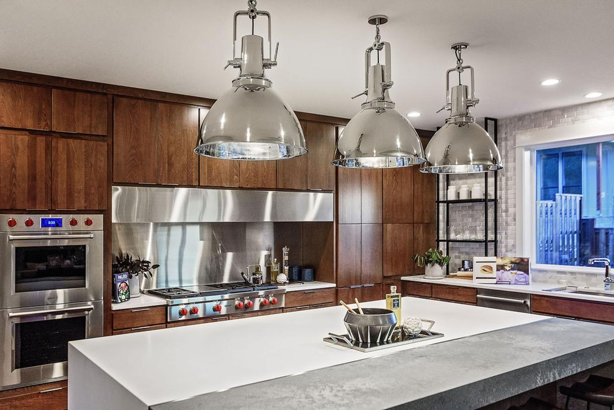 Chef's kitchen features Wolf and Sub-Zero appliances