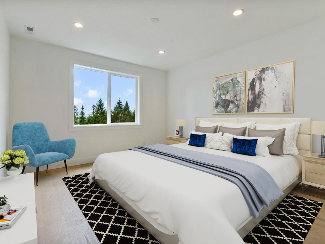 Primary bedroom retreat