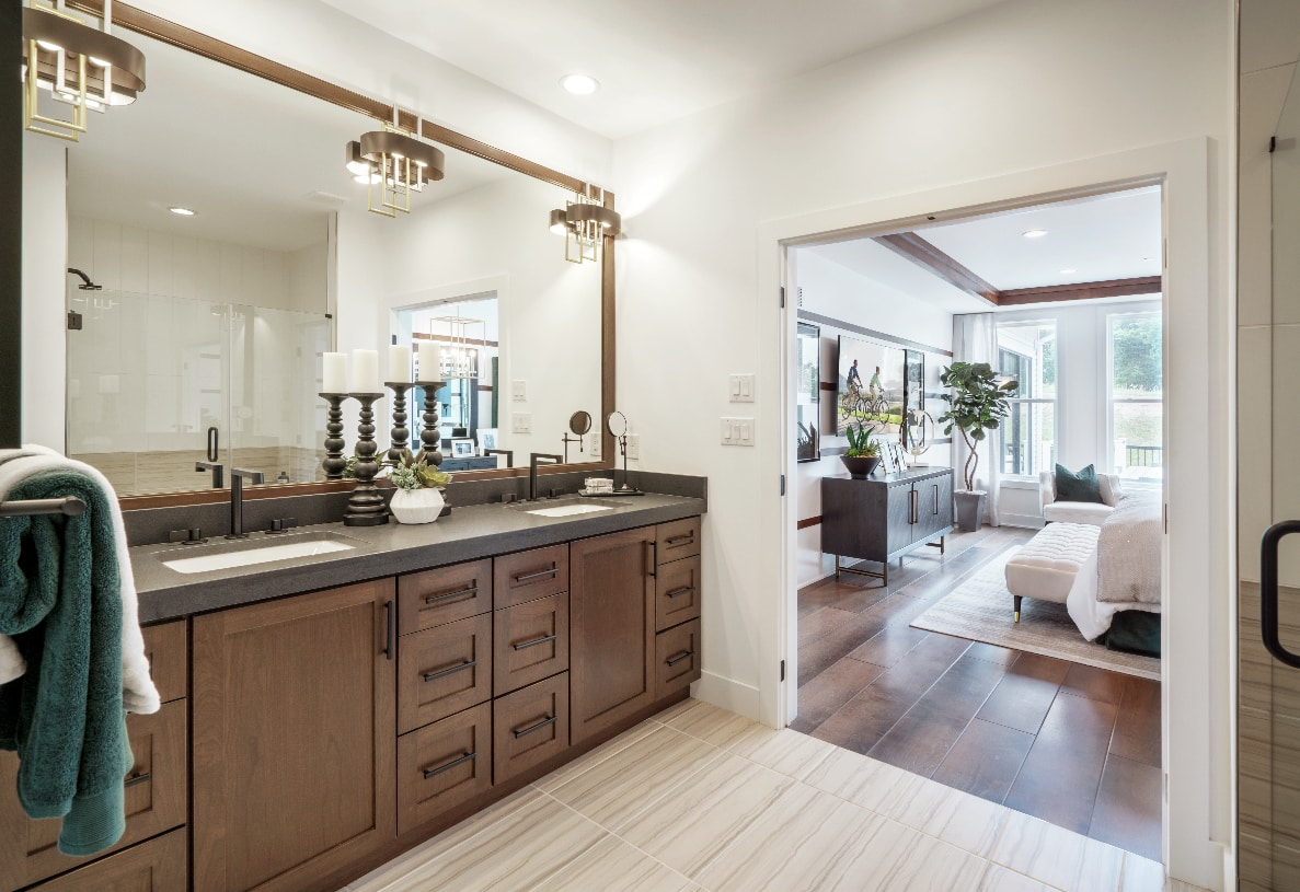 Luxury primary baths