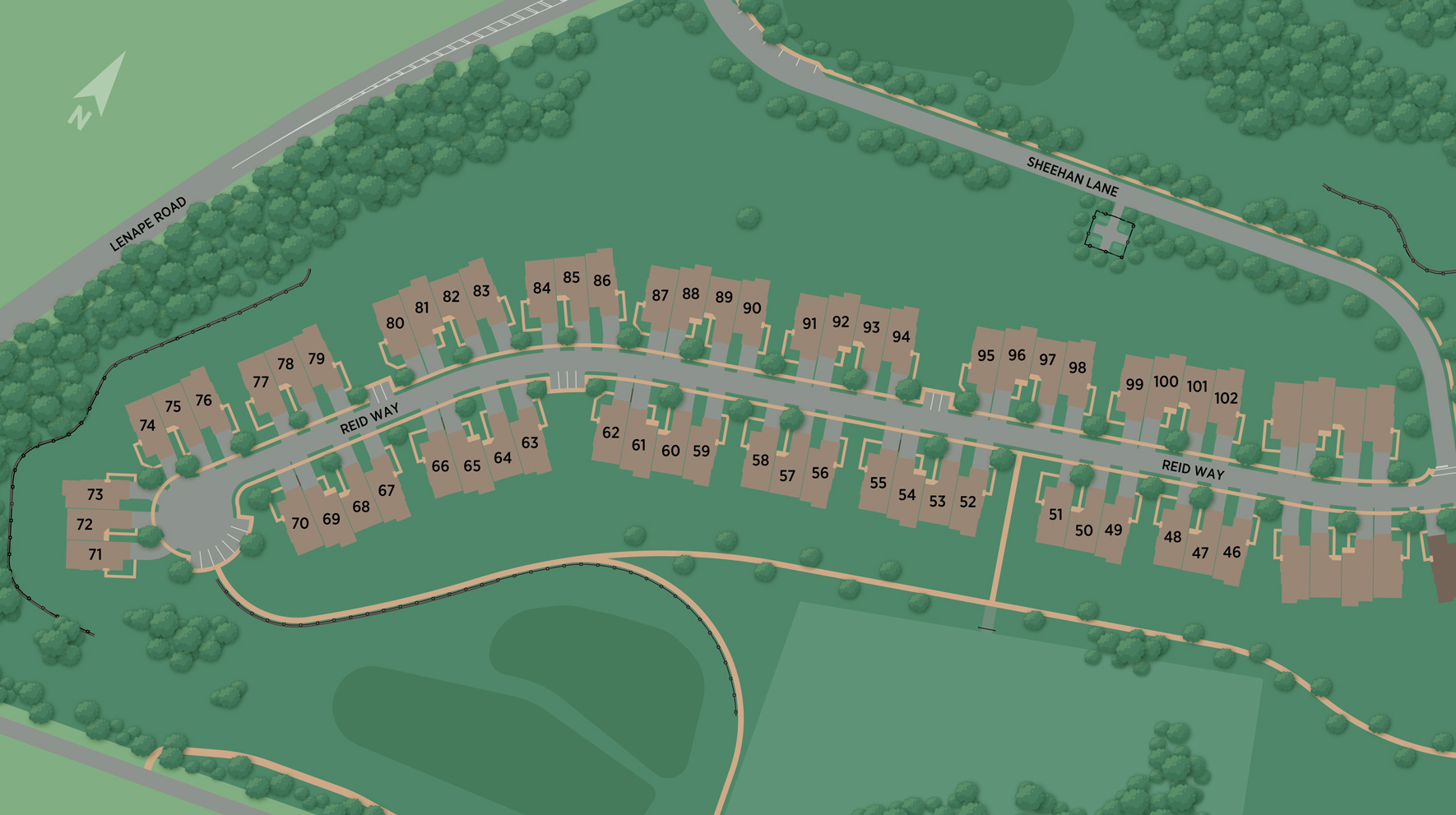 Darlington Ridge at West Chester Site Plan