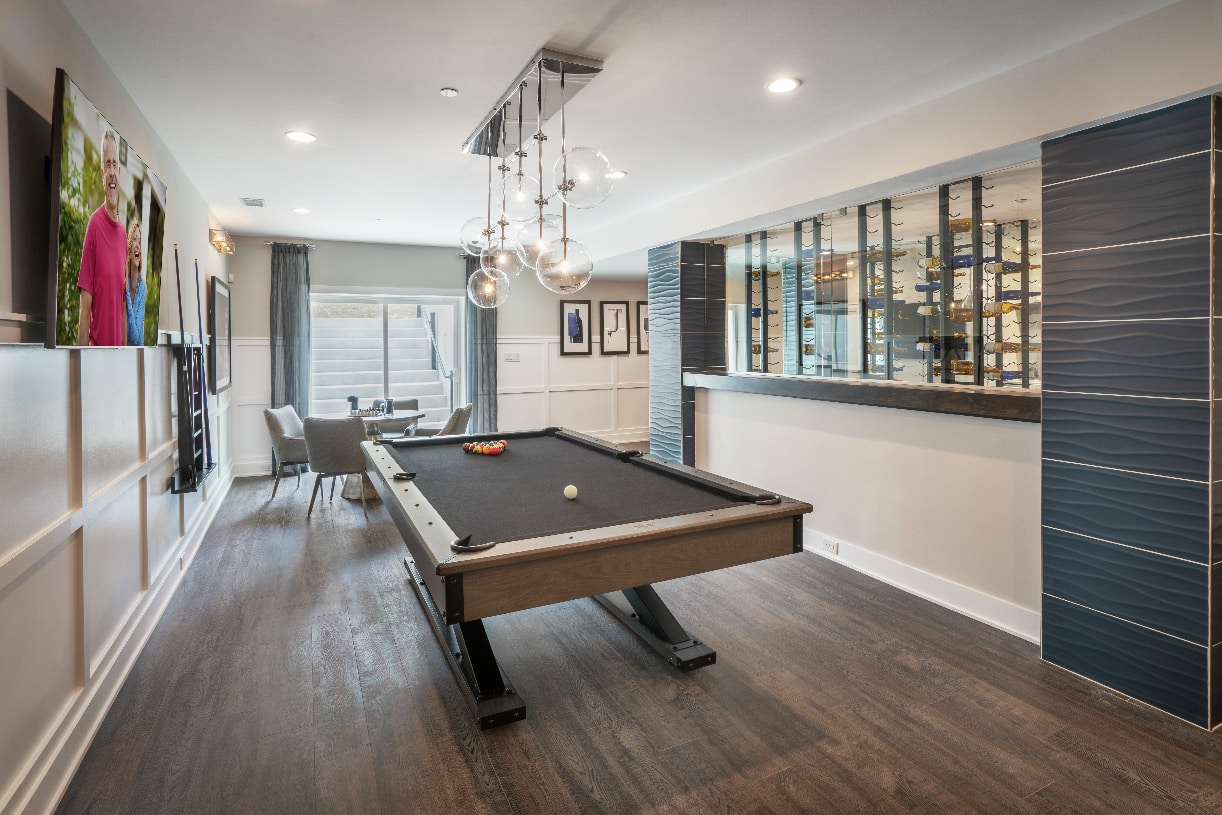 Walk-out basements available on select home sites