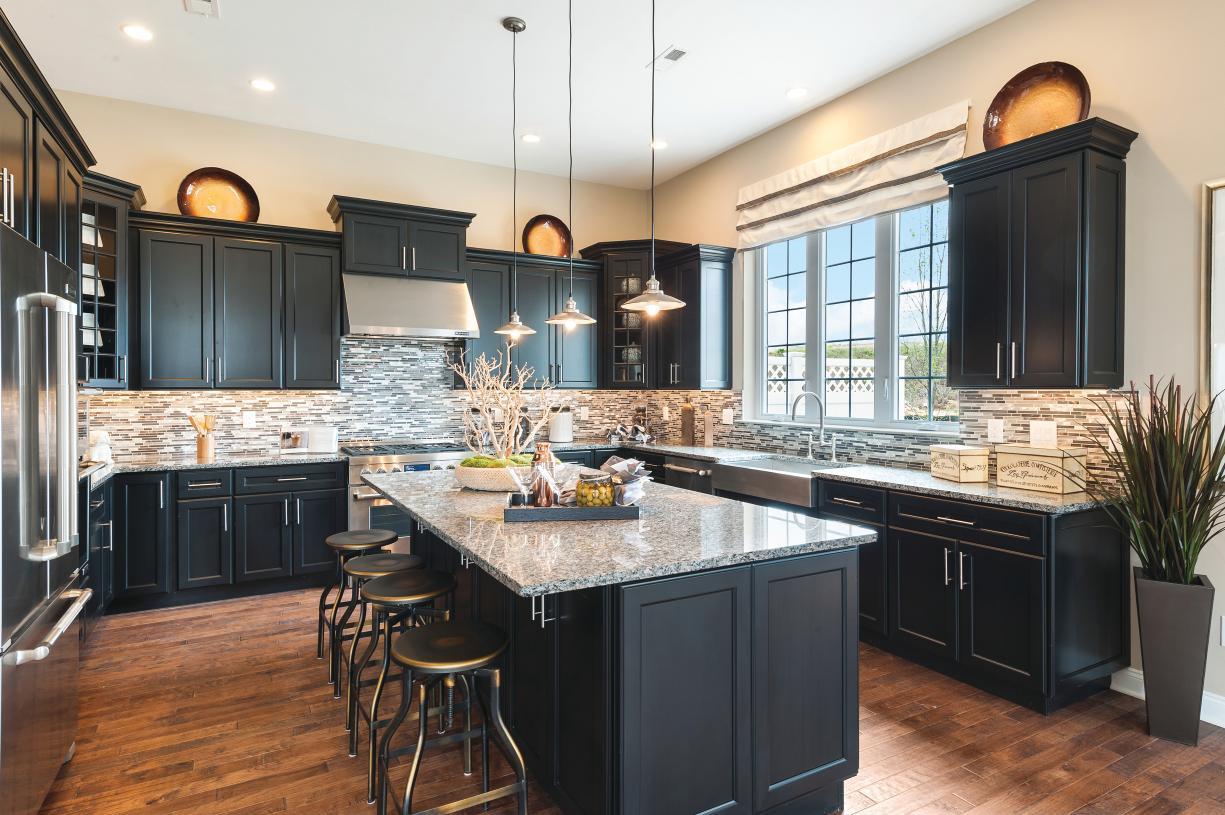 Representative photo - Spacious kitchen with large center island
