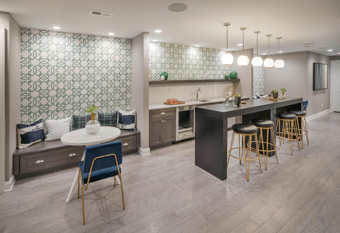 Create the space you want in the finished basement