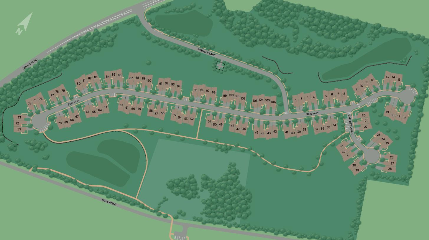 Darlington Ridge at West Chester - Overall Site Plan