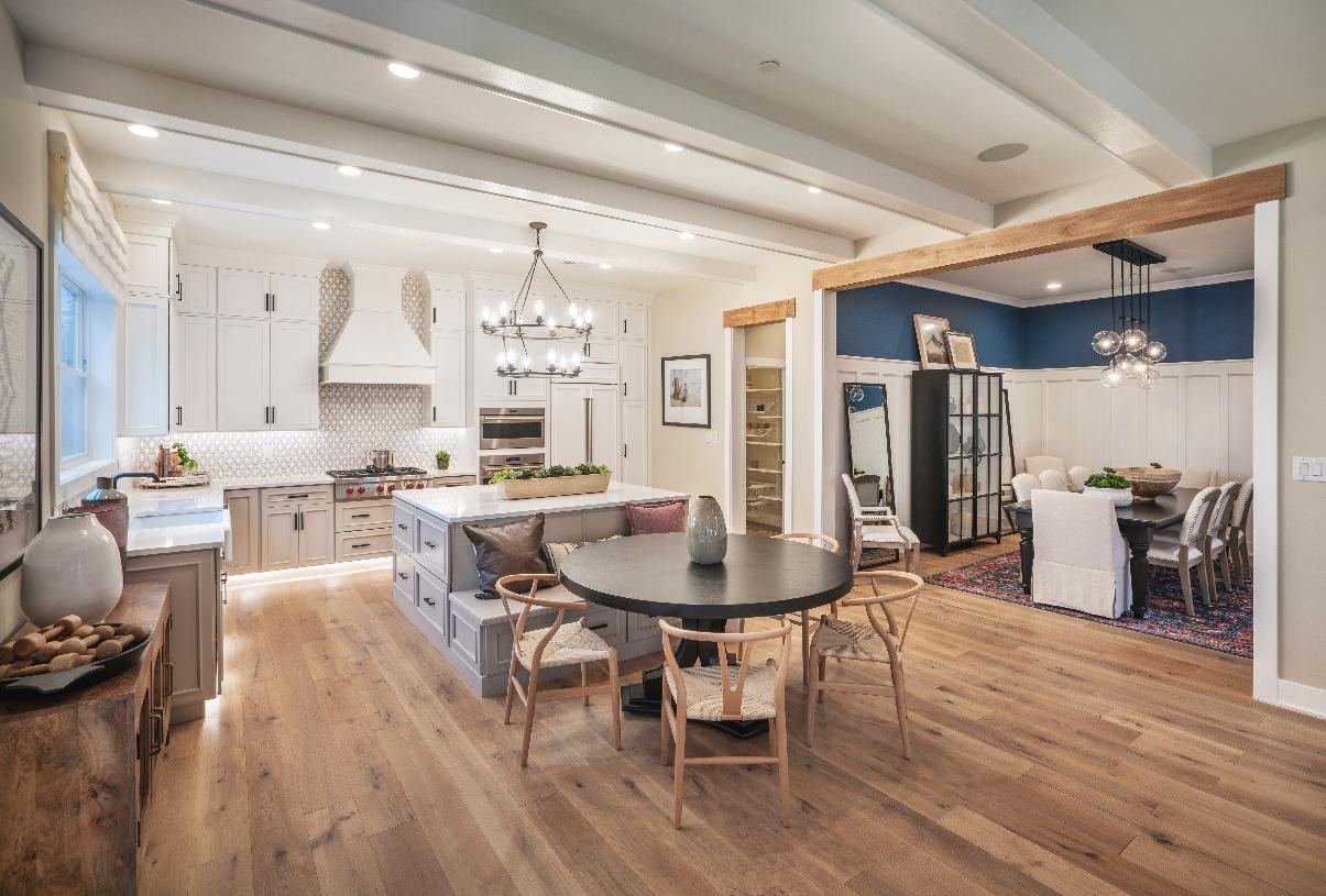 Large open-concept floor plans
