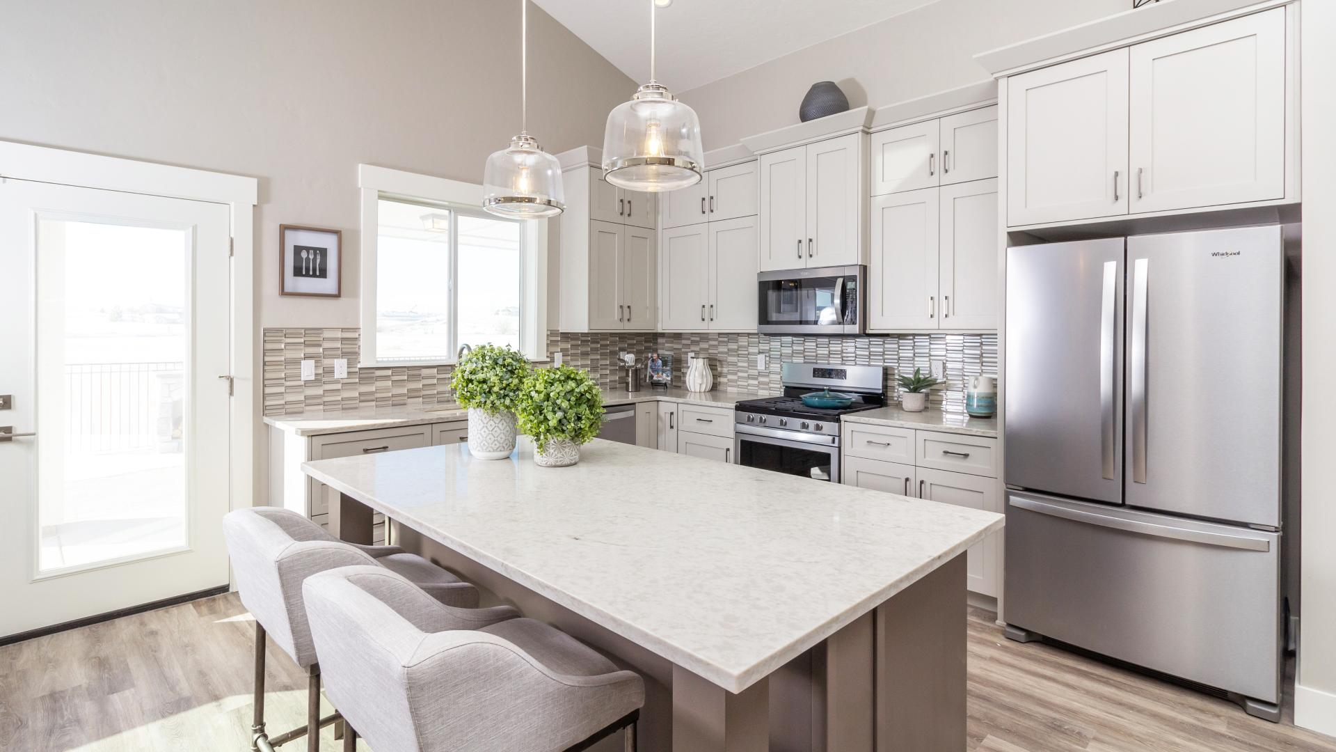 Open and welcoming kitchen