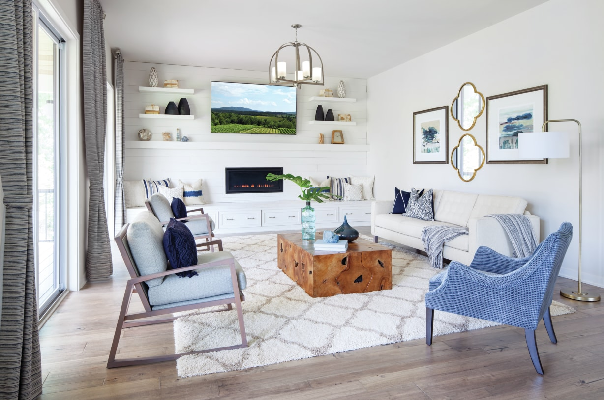 Bright and airy great room