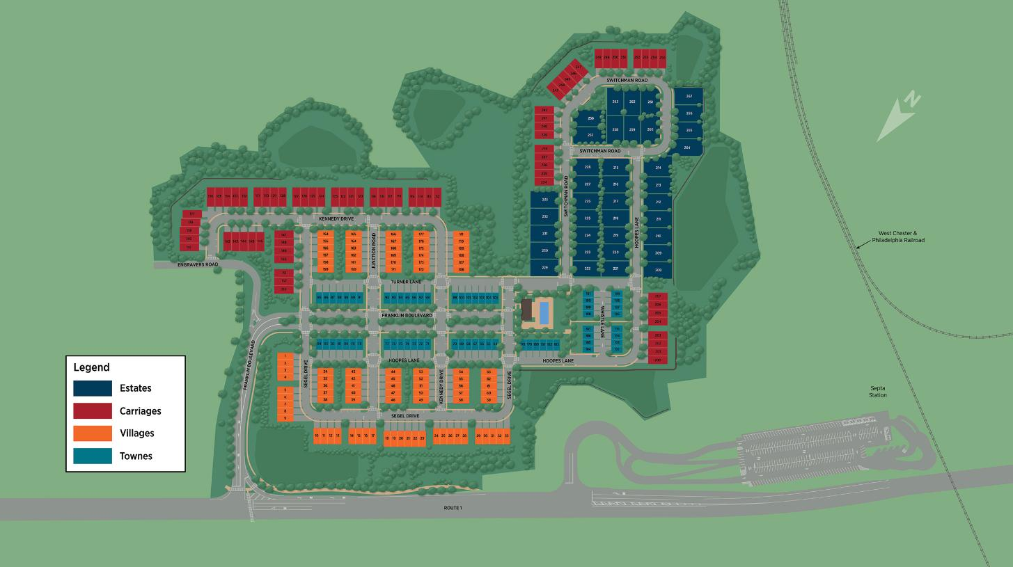 Franklin Station Overall Site Plan