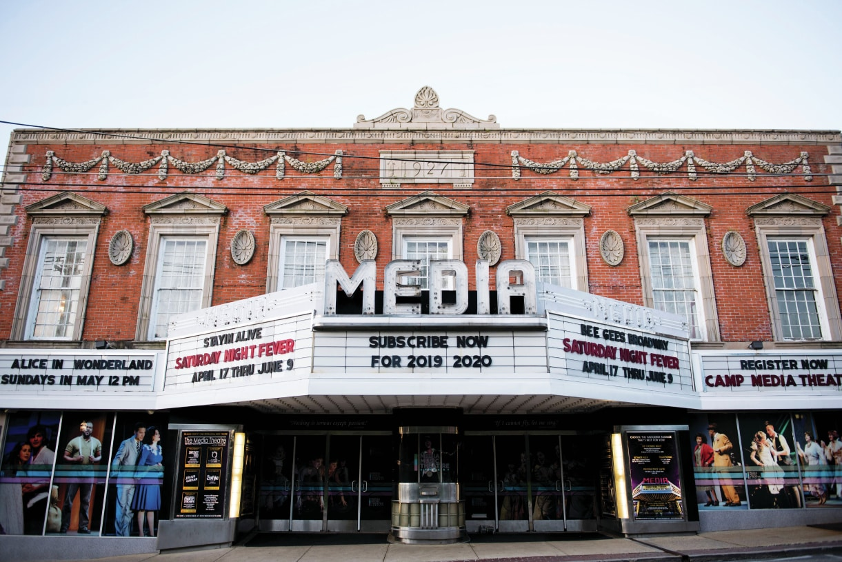 Explore the historic buildings of Media, PA