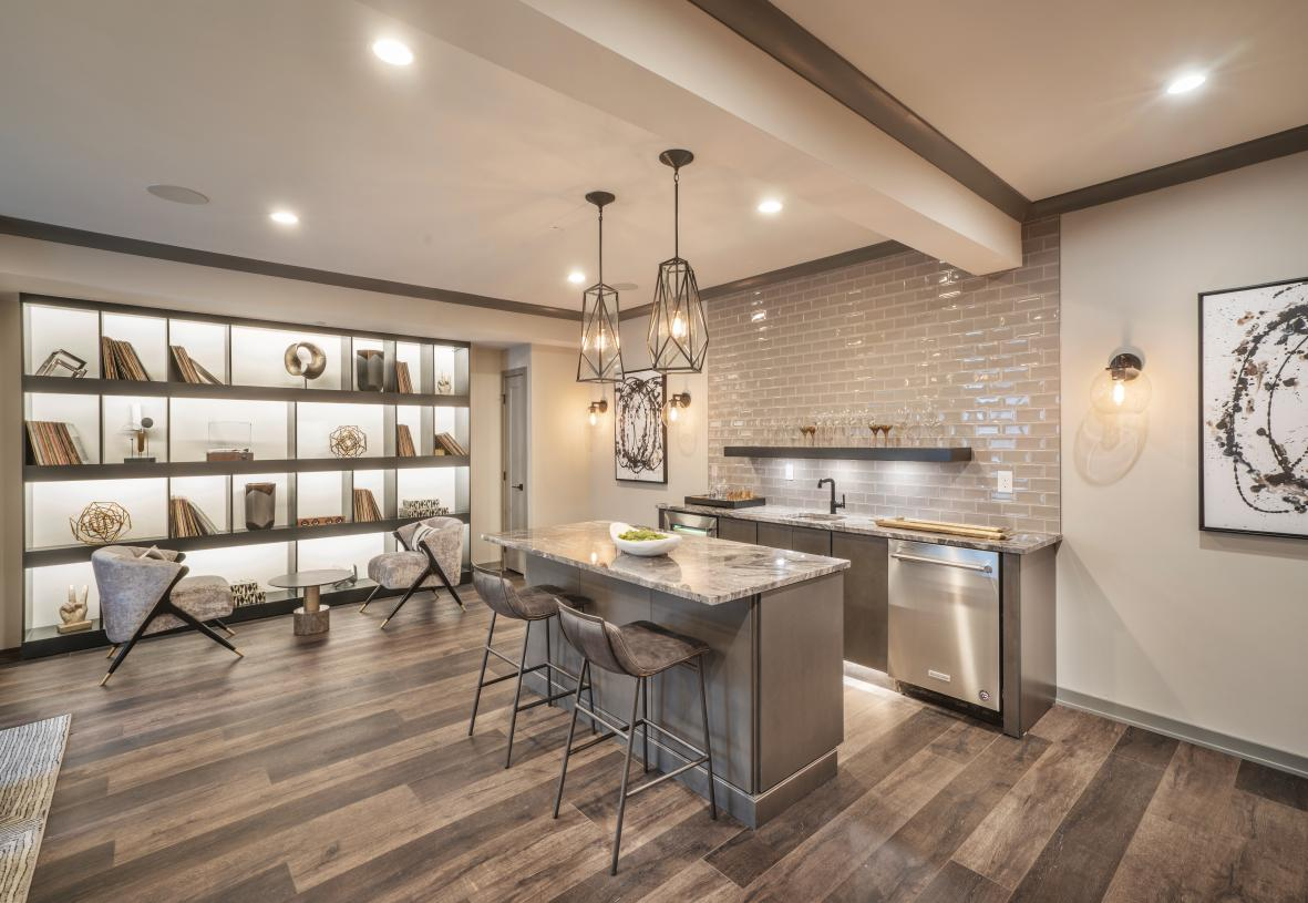 Possibilities are endless with a finished basement