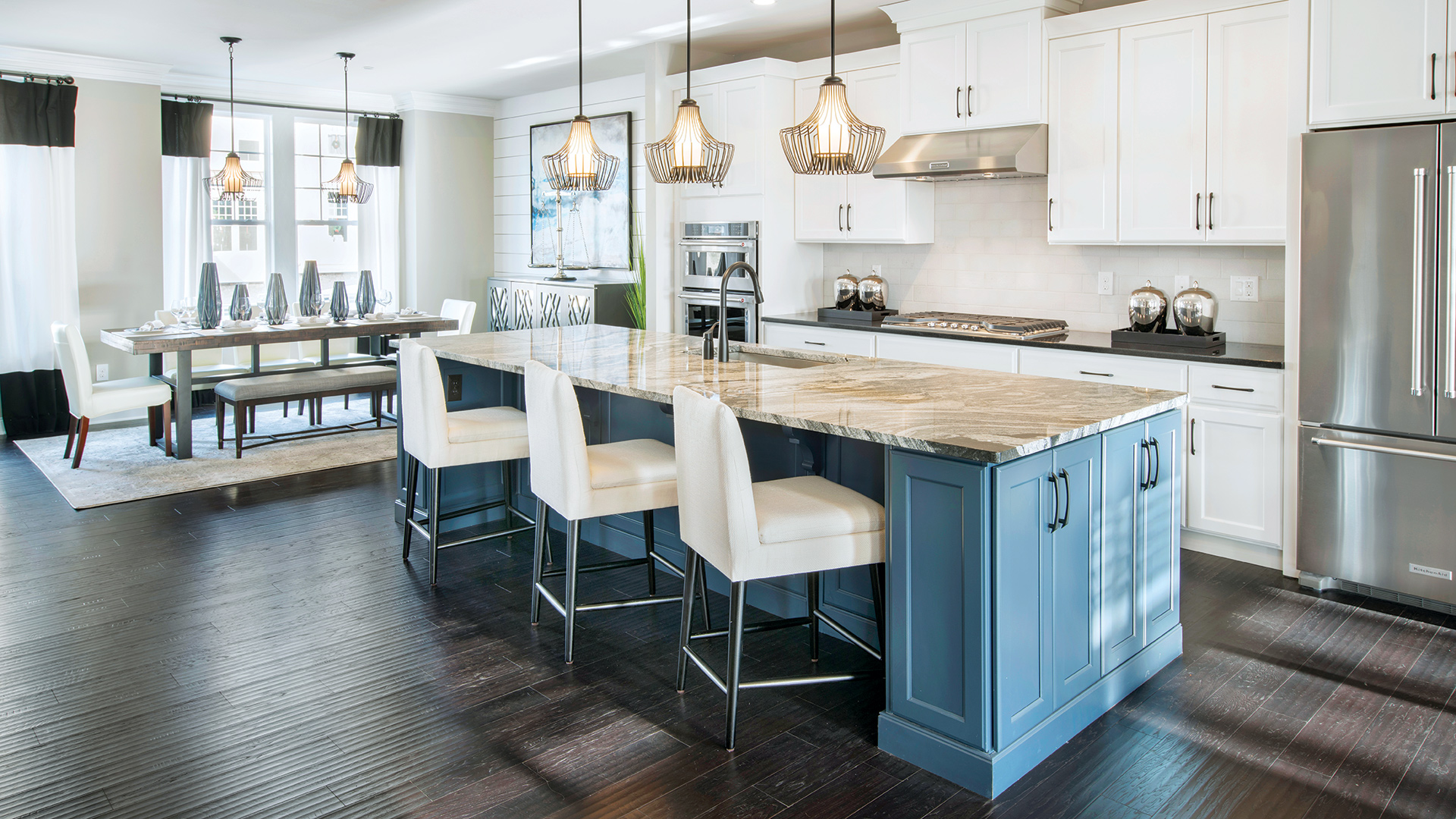 Open-concept kitchens are great for entertaining