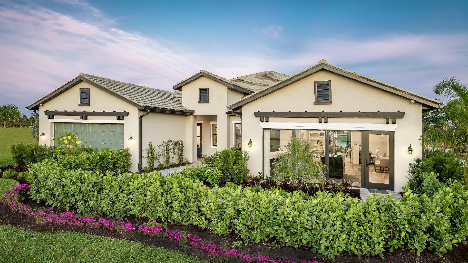 Spacious attached villas